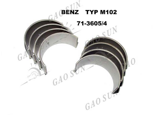 Metal Bearing, Crankshaft